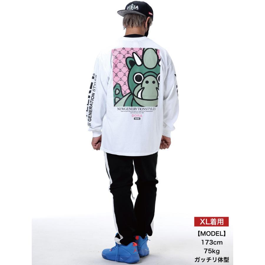 STYLEKEY(スタイルキー) 長袖Tシャツ LOOK IN L/S TEE(SK21SP-LS07) ストリート ヒップホップ レゲエ B系 龍 ドラゴン ドラちゃん イラスト 大きいサイズ|b-bros|02