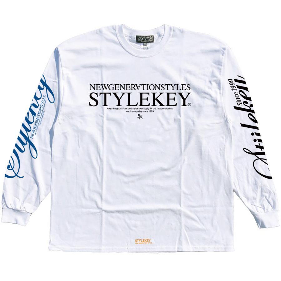 STYLEKEY(スタイルキー) 長袖Tシャツ BALANCE L/S TEE(SK21SP-LS08) ロングスリーブ ストリート ヒップホップ レゲエ B系 正義の天秤 フォト ロゴ 大きいサイズ|b-bros|03