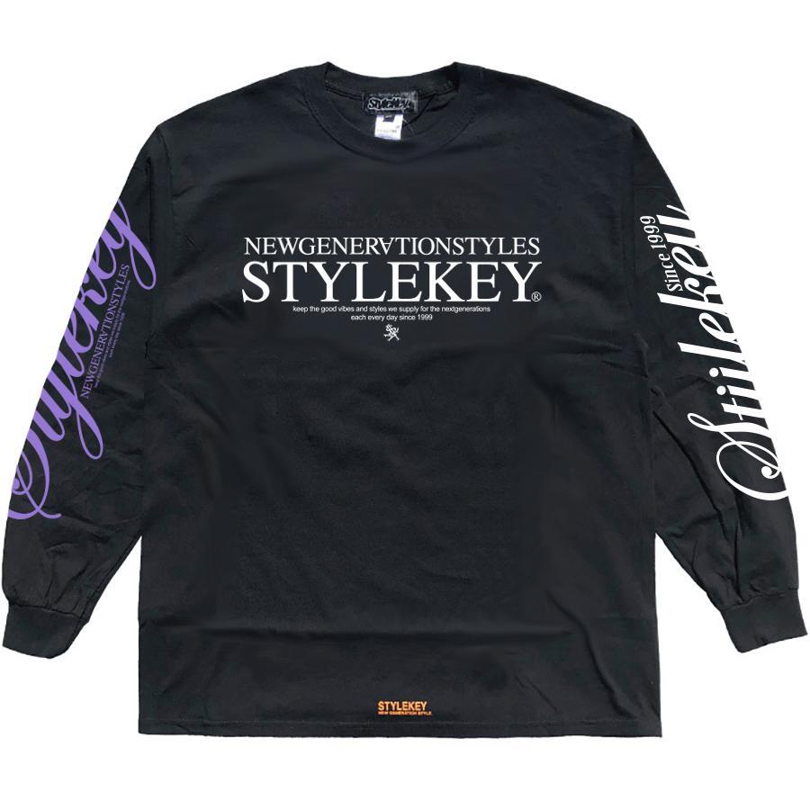 STYLEKEY(スタイルキー) 長袖Tシャツ BALANCE L/S TEE(SK21SP-LS08) ロングスリーブ ストリート ヒップホップ レゲエ B系 正義の天秤 フォト ロゴ 大きいサイズ|b-bros|05