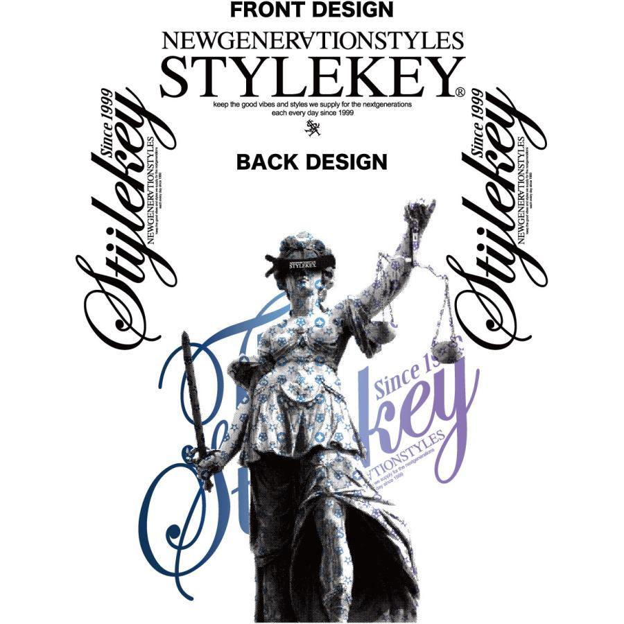 STYLEKEY(スタイルキー) 長袖Tシャツ BALANCE L/S TEE(SK21SP-LS08) ロングスリーブ ストリート ヒップホップ レゲエ B系 正義の天秤 フォト ロゴ 大きいサイズ|b-bros|07