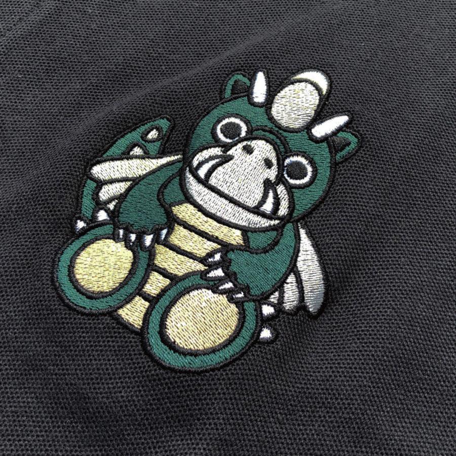 STYLEKEY スタイルキー ポロシャツ DORA-CHAN 鹿の子 S/S POLO(SK21SP-PL01) ストリートファッション B系 ヒップホップ レゲエ キャラクター 刺繍 大きいサイズ b-bros 05