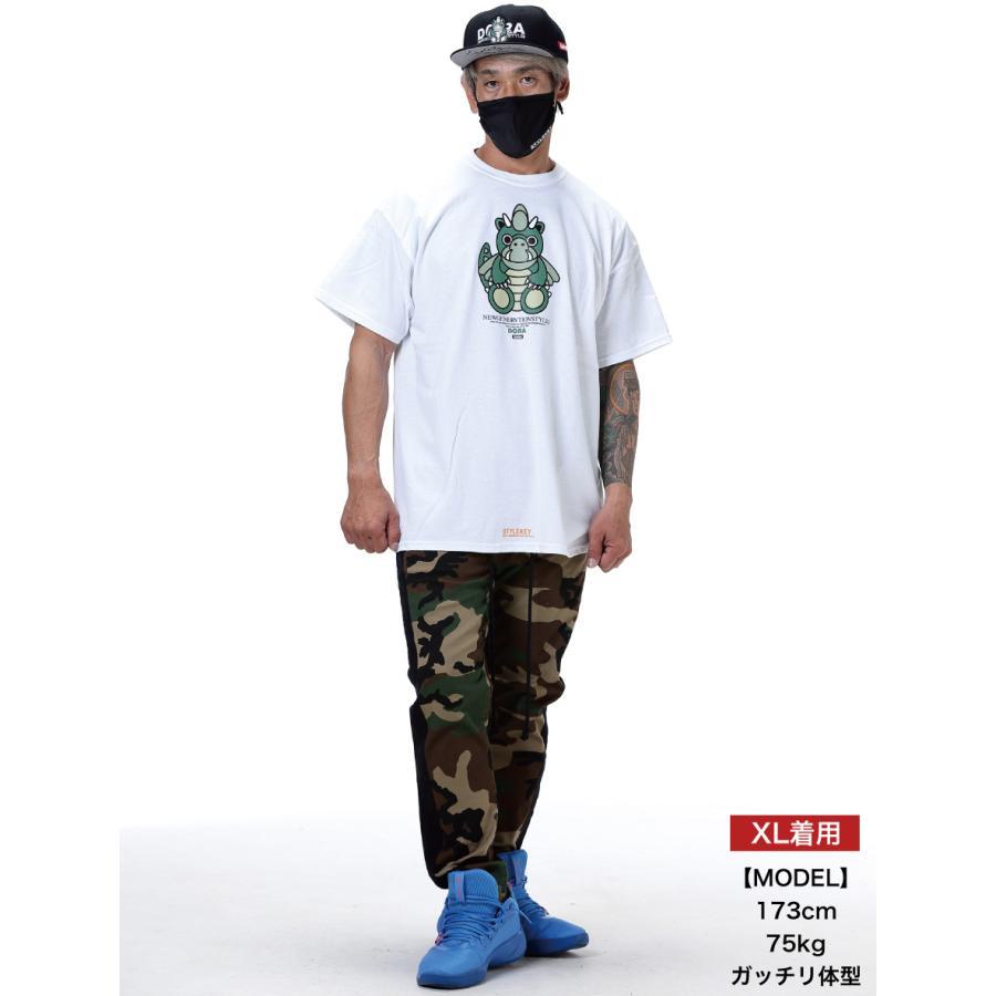 STYLEKEY スタイルキー 半袖Tシャツ DORA-CHAN S/S TEE(SK21SP-SS05) ストリート系 ヒップホップ レゲエ B系 ドラゴン キャラクター 大きいサイズ b-bros 02