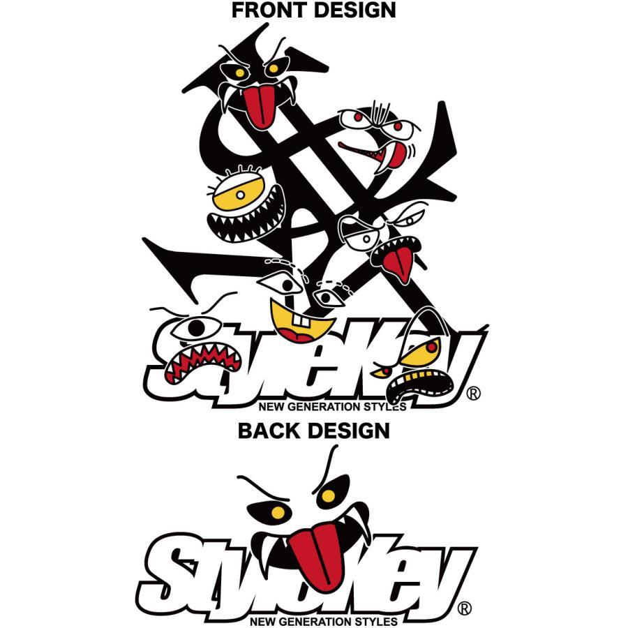 STYLEKEY スタイルキー 半袖Tシャツ MONSTER HOUSE S/S TEE(SK21SP-SS06) ストリート系 ヒップホップ レゲエ B系 モンスター ロゴ 大きいサイズ|b-bros|07