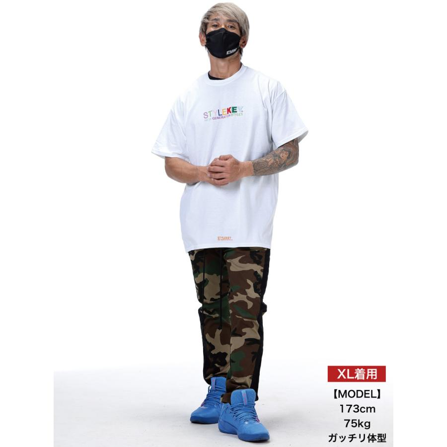 STYLEKEY スタイルキー 半袖Tシャツ WEALTH S/S TEE(SK21SP-SS07) ストリートファッション ヒップホップ レゲエ ダンス B系 カラフル ロゴ 刺繍 大きいサイズ|b-bros|02