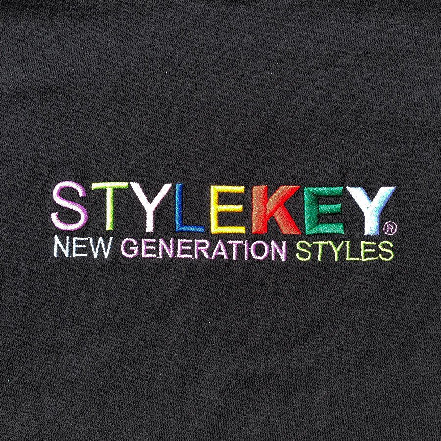 STYLEKEY スタイルキー 半袖Tシャツ WEALTH S/S TEE(SK21SP-SS07) ストリートファッション ヒップホップ レゲエ ダンス B系 カラフル ロゴ 刺繍 大きいサイズ|b-bros|08