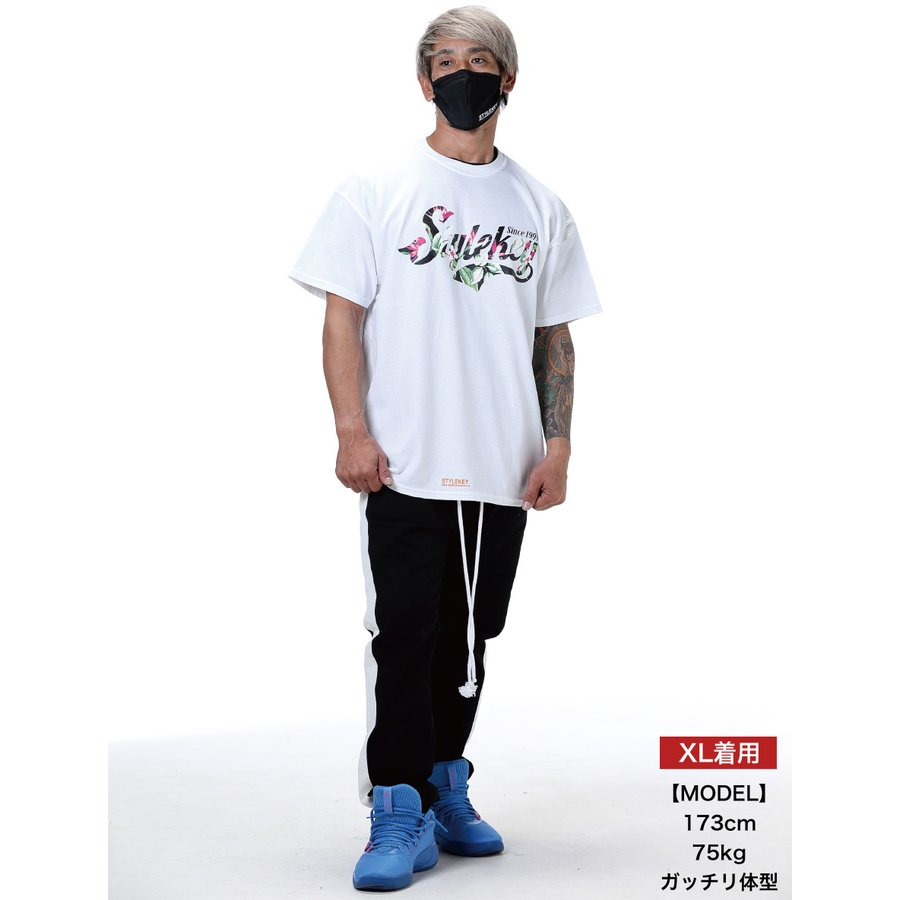 STYLEKEY スタイルキー 半袖Tシャツ GARDEN S/S TEE(SK21SP-SS09) ストリートファッション ヒップホップ レゲエ ダンス B系 花柄 ロゴ 大きいサイズ|b-bros|02