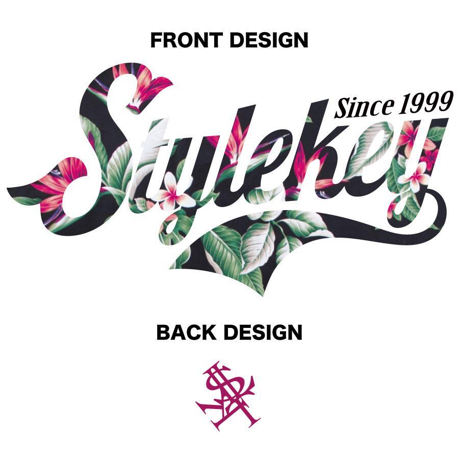STYLEKEY スタイルキー 半袖Tシャツ GARDEN S/S TEE(SK21SP-SS09) ストリートファッション ヒップホップ レゲエ ダンス B系 花柄 ロゴ 大きいサイズ|b-bros|07