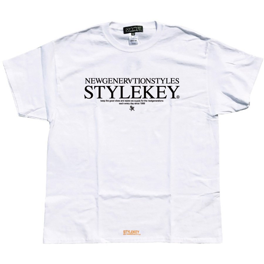 STYLEKEY スタイルキー 半袖Tシャツ ONE SHOT S/S TEE(SK21SP-SS10) ストリートファッション ヒップホップ レゲエ ダンス B系 蜂 ロゴ 大きいサイズ|b-bros|03