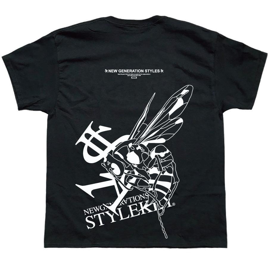 STYLEKEY スタイルキー 半袖Tシャツ ONE SHOT S/S TEE(SK21SP-SS10) ストリートファッション ヒップホップ レゲエ ダンス B系 蜂 ロゴ 大きいサイズ|b-bros|06