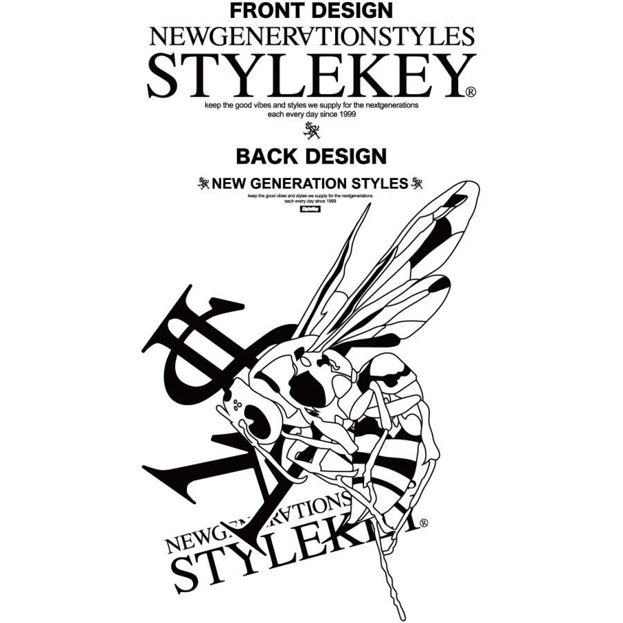 STYLEKEY スタイルキー 半袖Tシャツ ONE SHOT S/S TEE(SK21SP-SS10) ストリートファッション ヒップホップ レゲエ ダンス B系 蜂 ロゴ 大きいサイズ|b-bros|07
