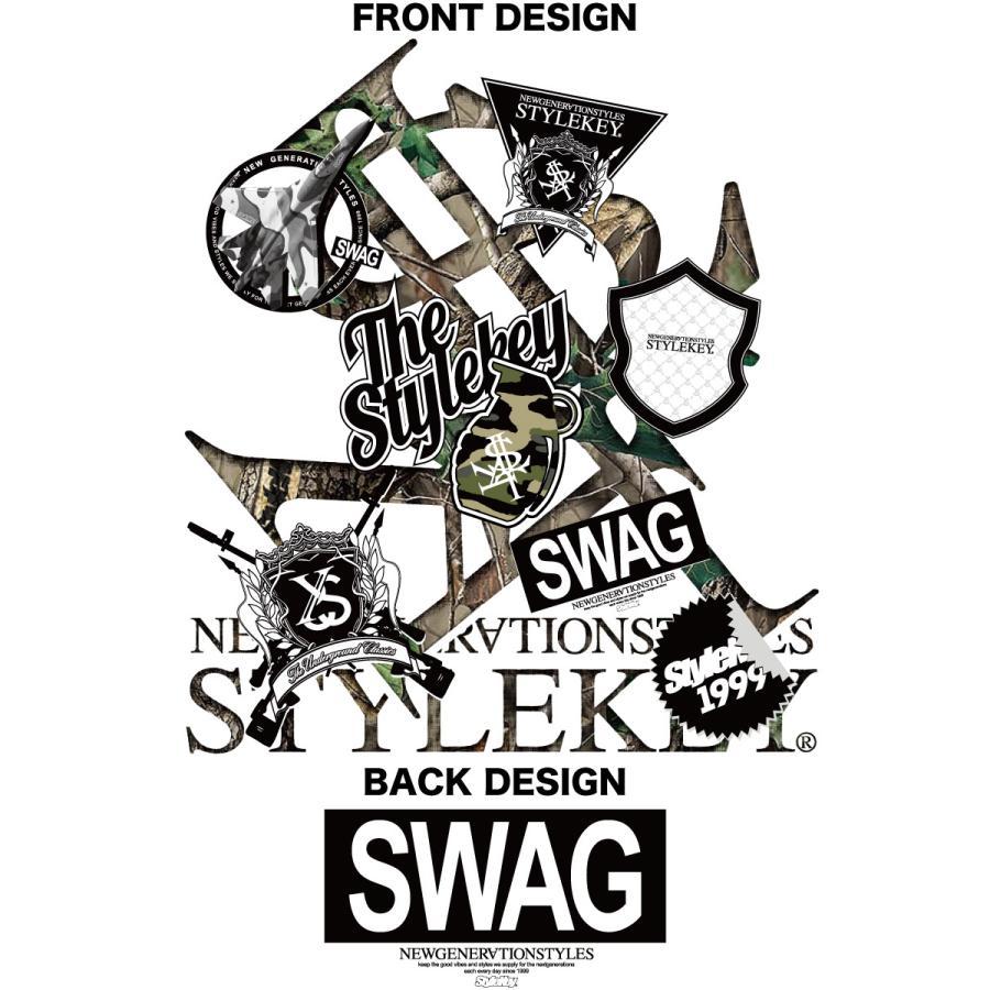 STYLEKEY スタイルキー 半袖Tシャツ SWAG S/S TEE(SK21SU-SS05) ストリート系 ヒップホップ レゲエ B系 ロゴ 迷彩 カモフラ 大きいサイズ b-bros 07