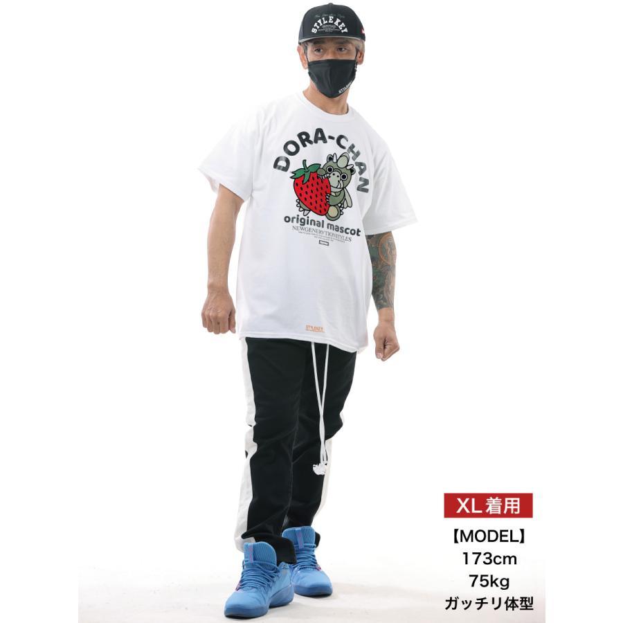 STYLEKEY スタイルキー 半袖Tシャツ DORA-CHAN×STRAWBERRY S/S TEE(SK21SU-SS06) ストリート系 カジュアル ドラちゃん キャラクター 大きいサイズ b-bros 02