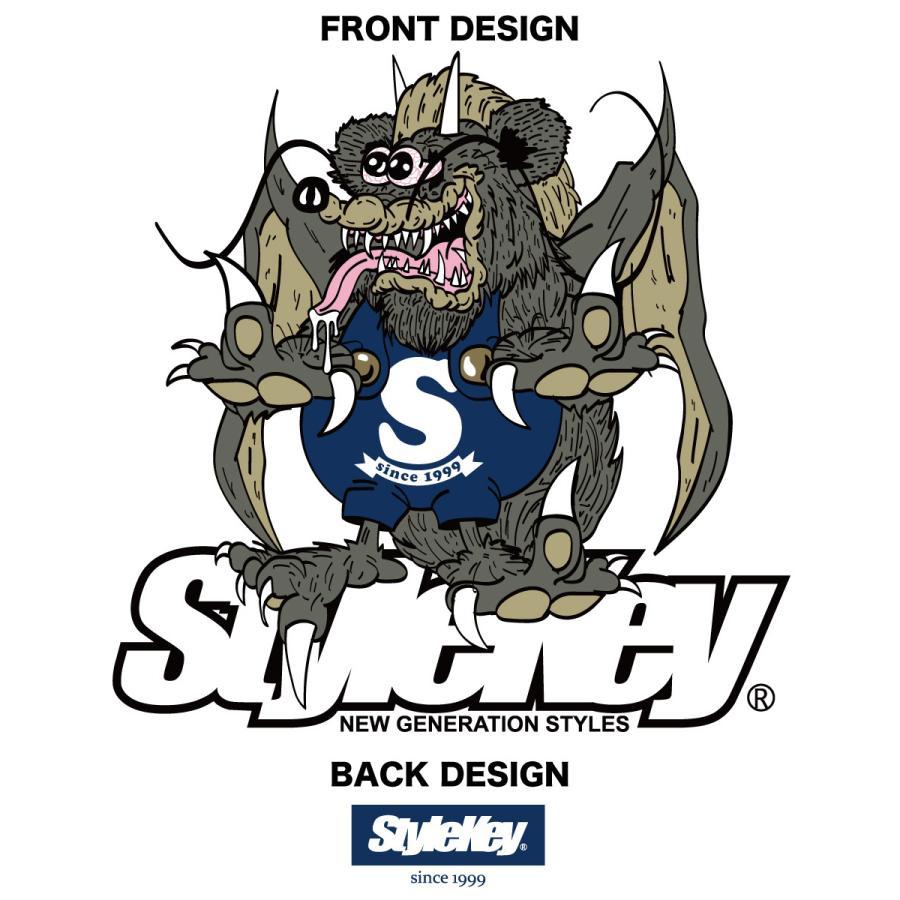 STYLEKEY スタイルキー 半袖Tシャツ ZOMBIE DRAGON S/S TEE(SK21SU-SS07) ストリート系 ゾンビ ドラゴン キャラクター 大きいサイズ|b-bros|07