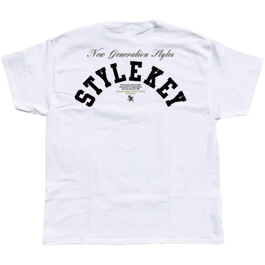 STYLEKEY スタイルキー 半袖Tシャツ CRAZY BOX S/S TEE(SK21SU-SS09) ストリート系 B系 レゲエ ロック ボツクス ロゴ バンド 大きいサイズ|b-bros|04