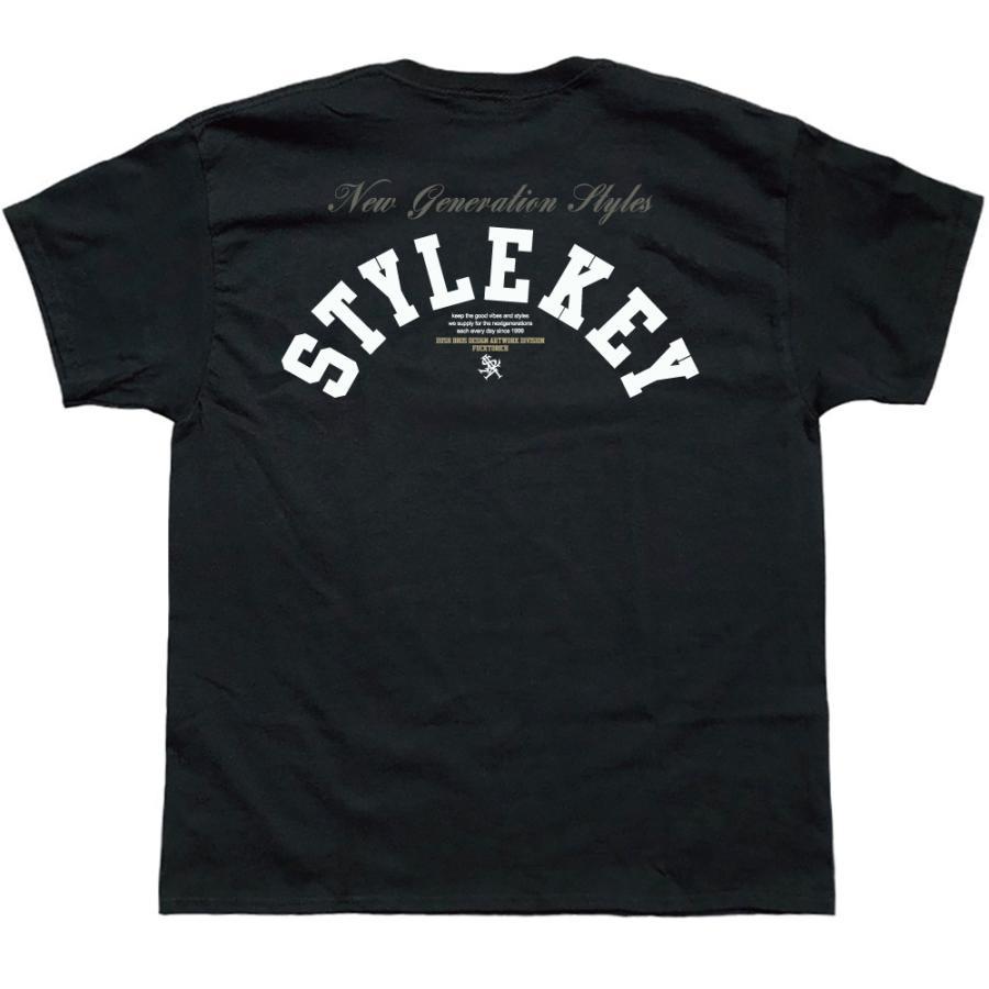STYLEKEY スタイルキー 半袖Tシャツ CRAZY BOX S/S TEE(SK21SU-SS09) ストリート系 B系 レゲエ ロック ボツクス ロゴ バンド 大きいサイズ|b-bros|06