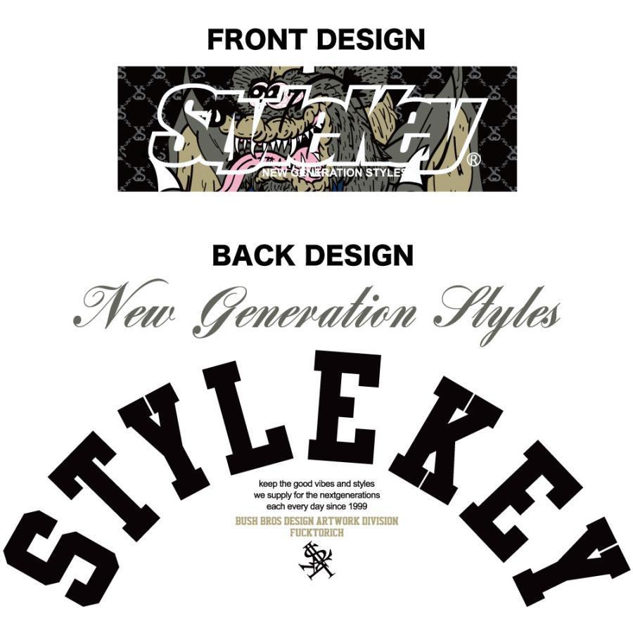 STYLEKEY スタイルキー 半袖Tシャツ CRAZY BOX S/S TEE(SK21SU-SS09) ストリート系 B系 レゲエ ロック ボツクス ロゴ バンド 大きいサイズ|b-bros|07