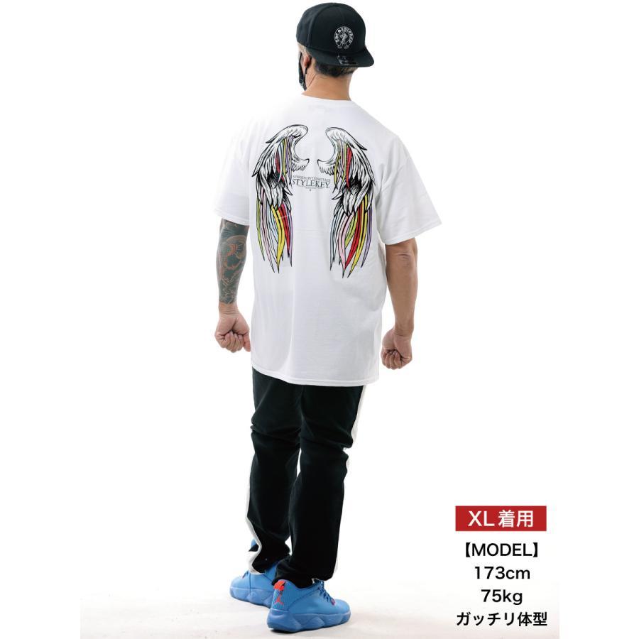 STYLEKEY スタイルキー 半袖Tシャツ SERAPH S/S TEE(SK21SU-SS10) ストリート系 B系 レゲエ ロック 熾天使の羽 ロゴ バンド 大きいサイズ|b-bros|02