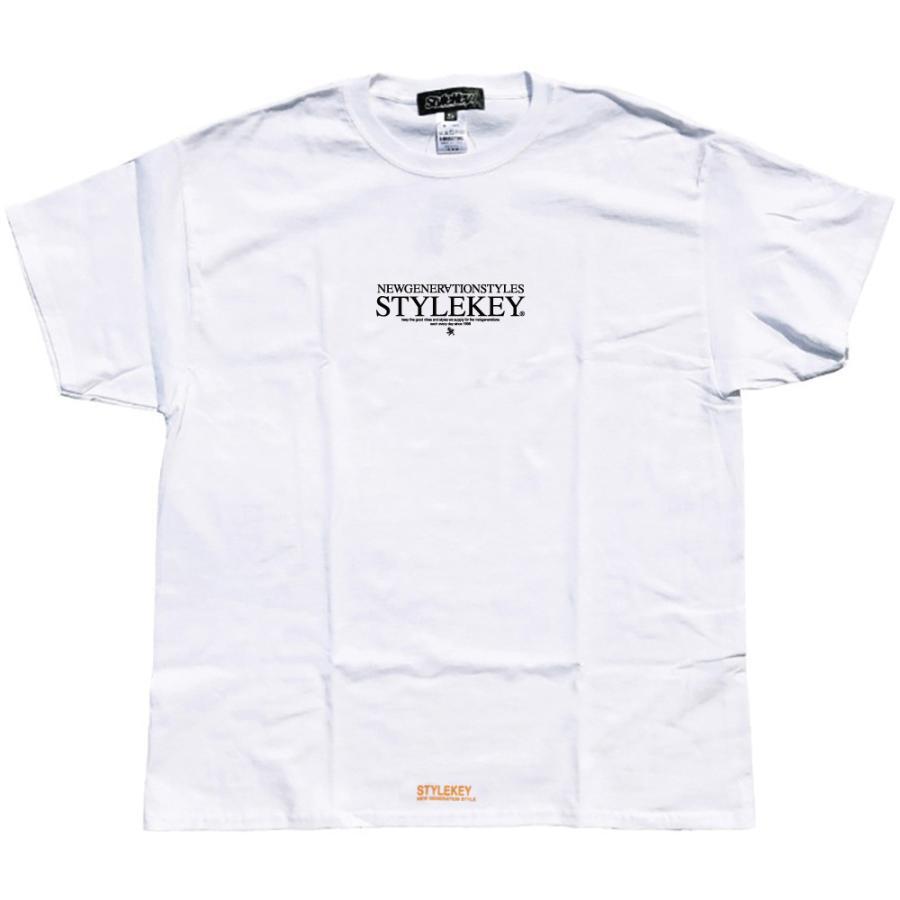 STYLEKEY スタイルキー 半袖Tシャツ SERAPH S/S TEE(SK21SU-SS10) ストリート系 B系 レゲエ ロック 熾天使の羽 ロゴ バンド 大きいサイズ|b-bros|03
