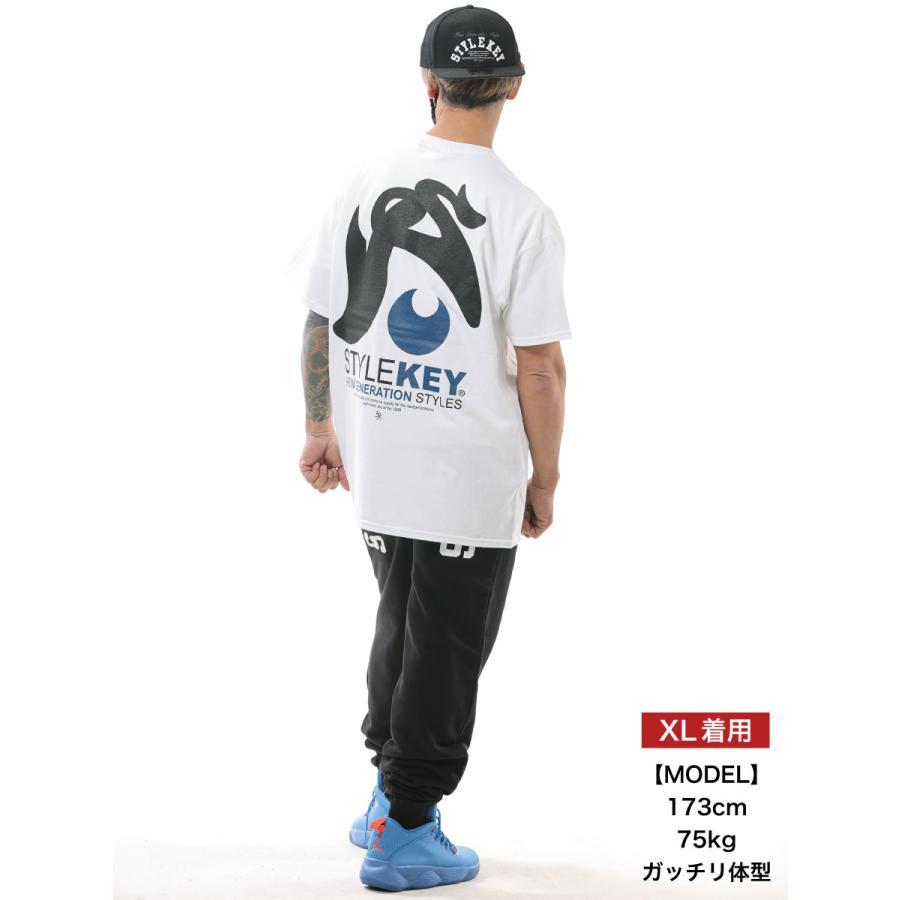 STYLEKEY スタイルキー 半袖Tシャツ LEAPING S/S TEE(SK21SU-SS11) ストリート系 B系 レゲエ ロック ヒップホップ ロゴ バンド 大きいサイズ|b-bros|02