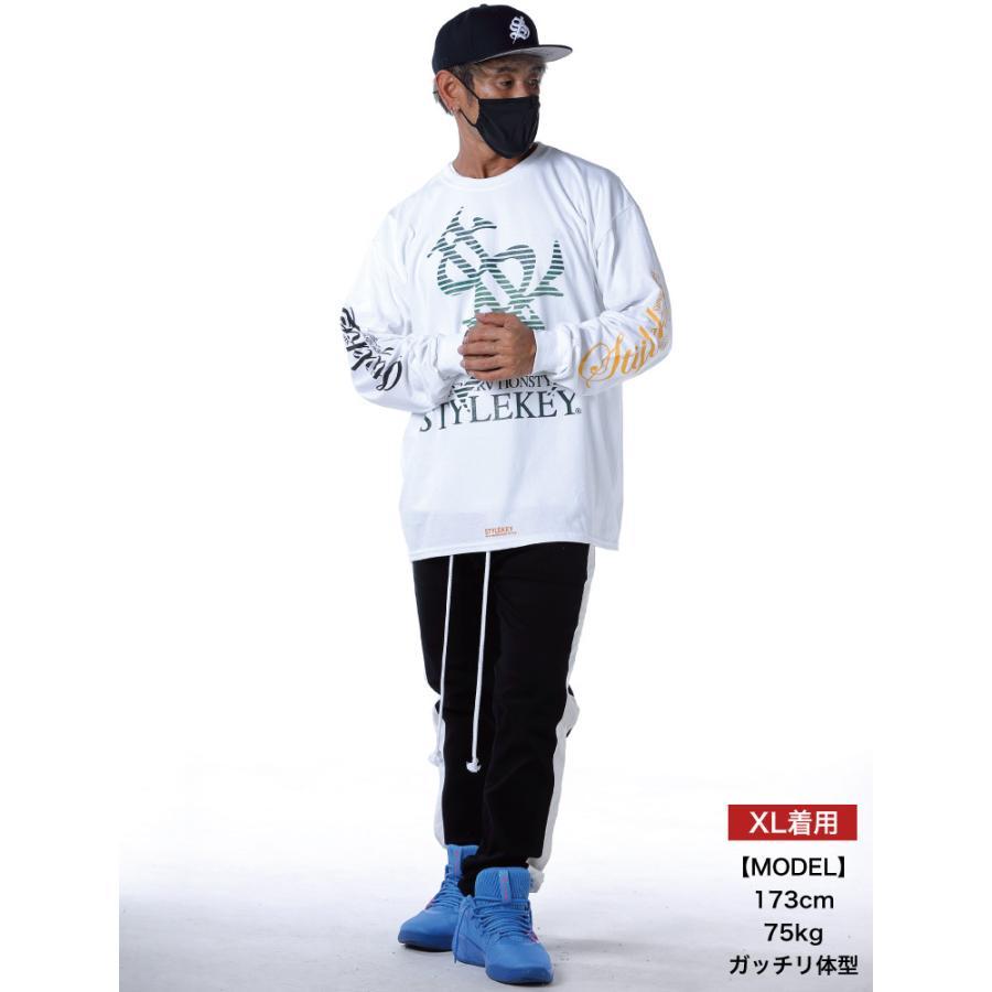 STYLEKEY CLASSIC LABEL(スタイルキー クラシック・レーベル) 長袖Tシャツ BLIND L/S TEE(SK99CL-LS01) ロングスリーブ ストリート ロゴ 大きいサイズ|b-bros|02