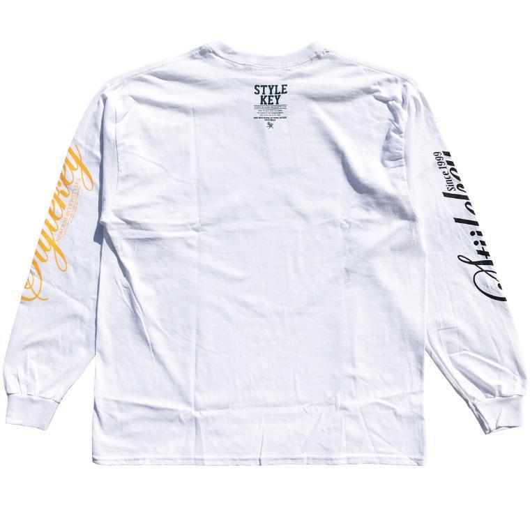 STYLEKEY CLASSIC LABEL(スタイルキー クラシック・レーベル) 長袖Tシャツ BLIND L/S TEE(SK99CL-LS01) ロングスリーブ ストリート ロゴ 大きいサイズ|b-bros|04