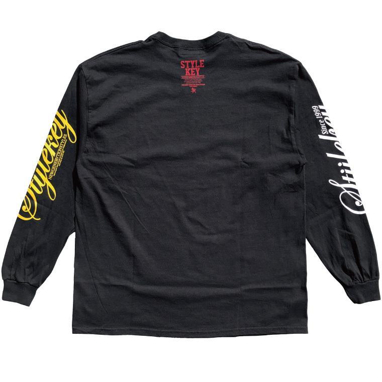 STYLEKEY CLASSIC LABEL(スタイルキー クラシック・レーベル) 長袖Tシャツ BLIND L/S TEE(SK99CL-LS01) ロングスリーブ ストリート ロゴ 大きいサイズ|b-bros|06