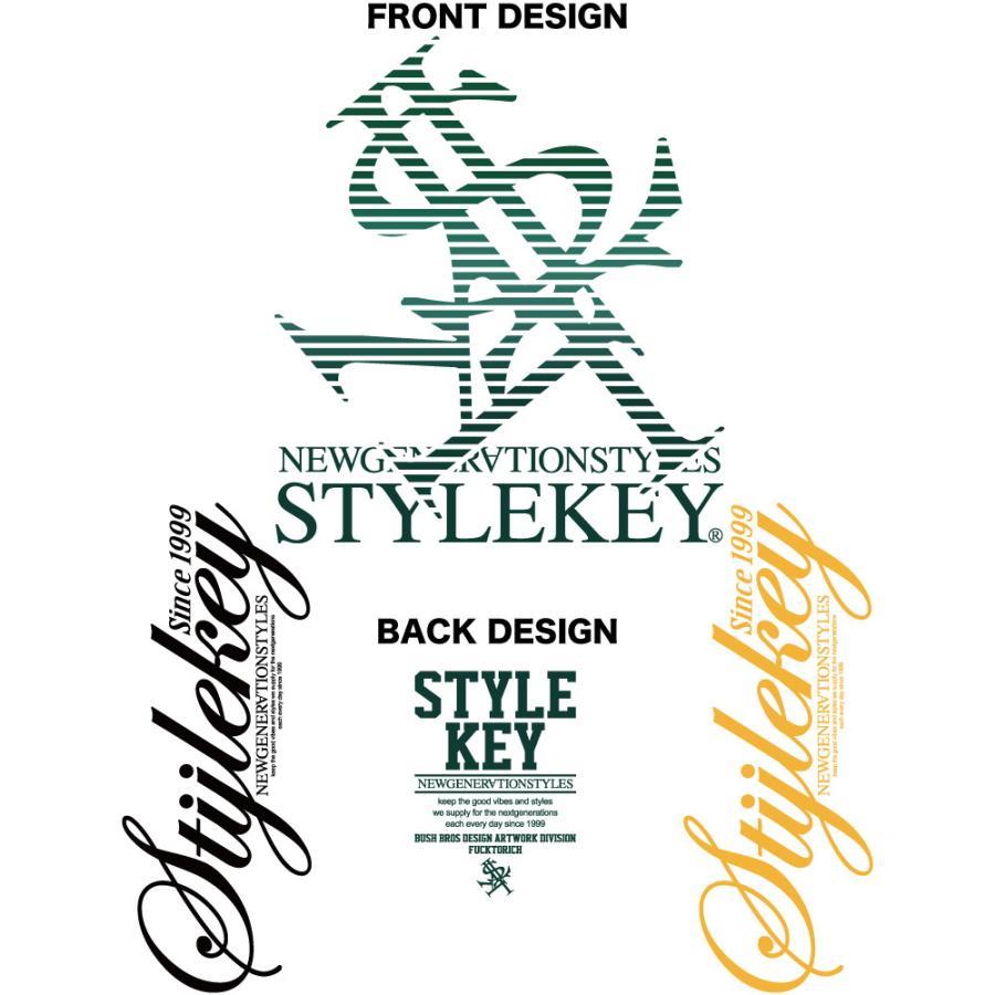 STYLEKEY CLASSIC LABEL(スタイルキー クラシック・レーベル) 長袖Tシャツ BLIND L/S TEE(SK99CL-LS01) ロングスリーブ ストリート ロゴ 大きいサイズ|b-bros|07