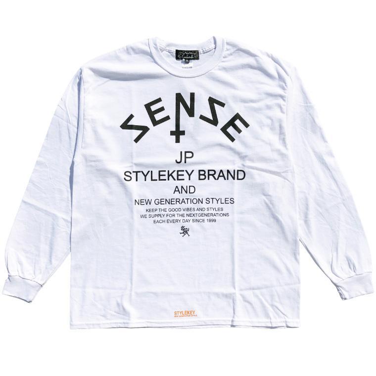 STYLEKEY CLASSIC LABEL(スタイルキー クラシック・レーベル) 長袖Tシャツ COMMON SENSE L/S TEE(SK99CL-LS02) ロングスリーブ ストリート ロゴ 大きいサイズ b-bros 03