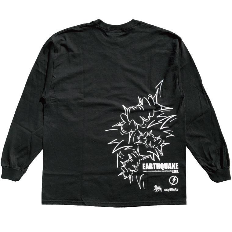 STYLEKEY CLASSIC LABEL(スタイルキー クラシック・レーベル) 長袖Tシャツ EARTHQUAKE L/S TEE(SK99CL-LS04) ロンT ストリート グラフィック 大きいサイズ b-bros 06