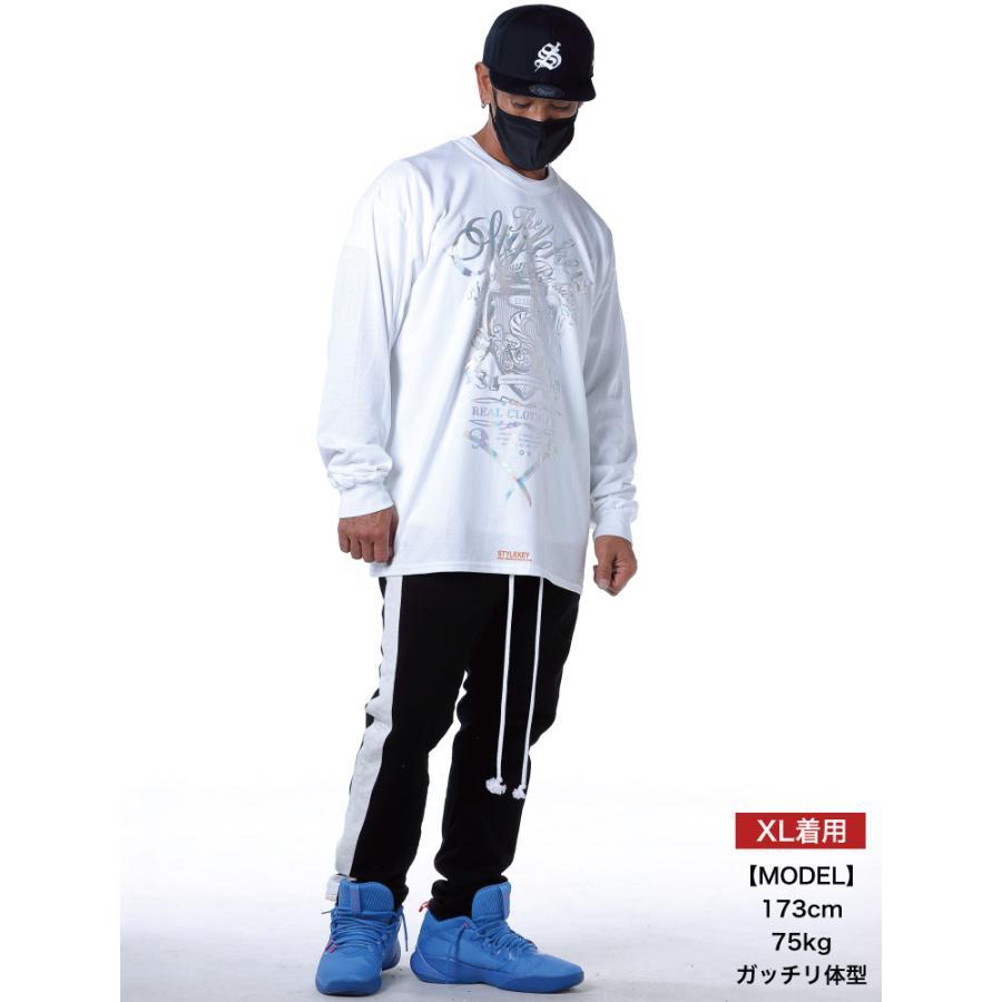 STYLEKEY CLASSIC LABEL(スタイルキー クラシック・レーベル) 長袖Tシャツ KILLEMB L/S TEE(SK99CL-LS06) ロンT ストリート 箔 エンブレム 大きいサイズ|b-bros|02