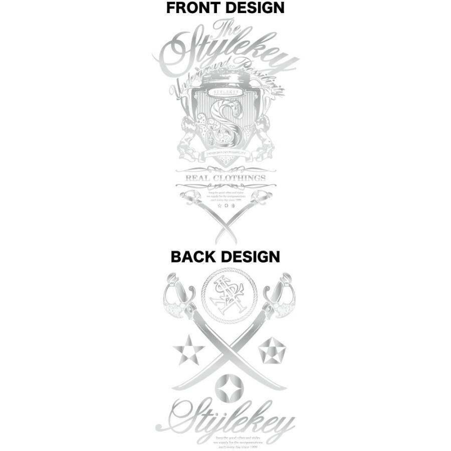 STYLEKEY CLASSIC LABEL(スタイルキー クラシック・レーベル) 長袖Tシャツ KILLEMB L/S TEE(SK99CL-LS06) ロンT ストリート 箔 エンブレム 大きいサイズ|b-bros|07