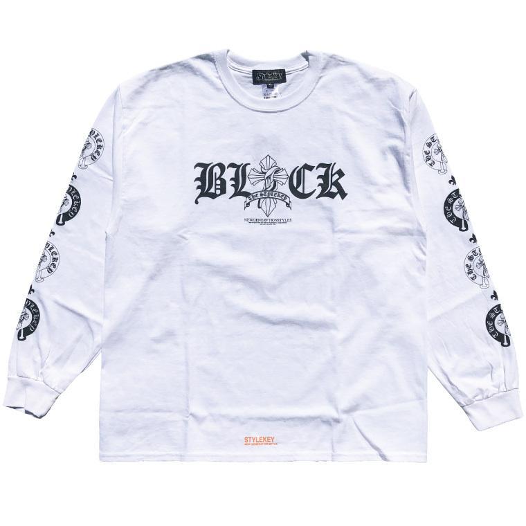 STYLEKEY CLASSIC LABEL(スタイルキー クラシック・レーベル) 長袖Tシャツ KINGDOM L/S TEE(SK99CL-LS08) ロンT ストリート ロック バンド 大きいサイズ|b-bros|03
