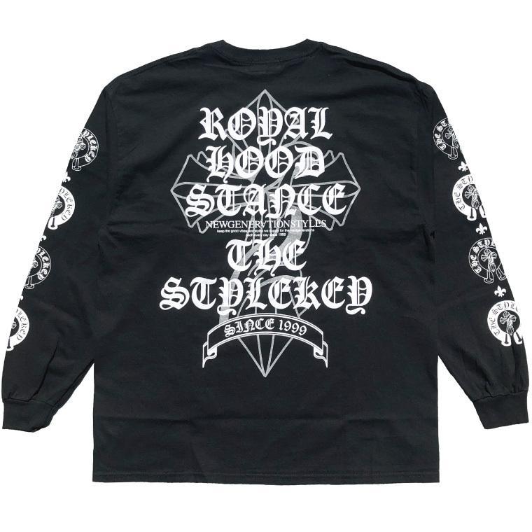 STYLEKEY CLASSIC LABEL(スタイルキー クラシック・レーベル) 長袖Tシャツ KINGDOM L/S TEE(SK99CL-LS08) ロンT ストリート ロック バンド 大きいサイズ|b-bros|06