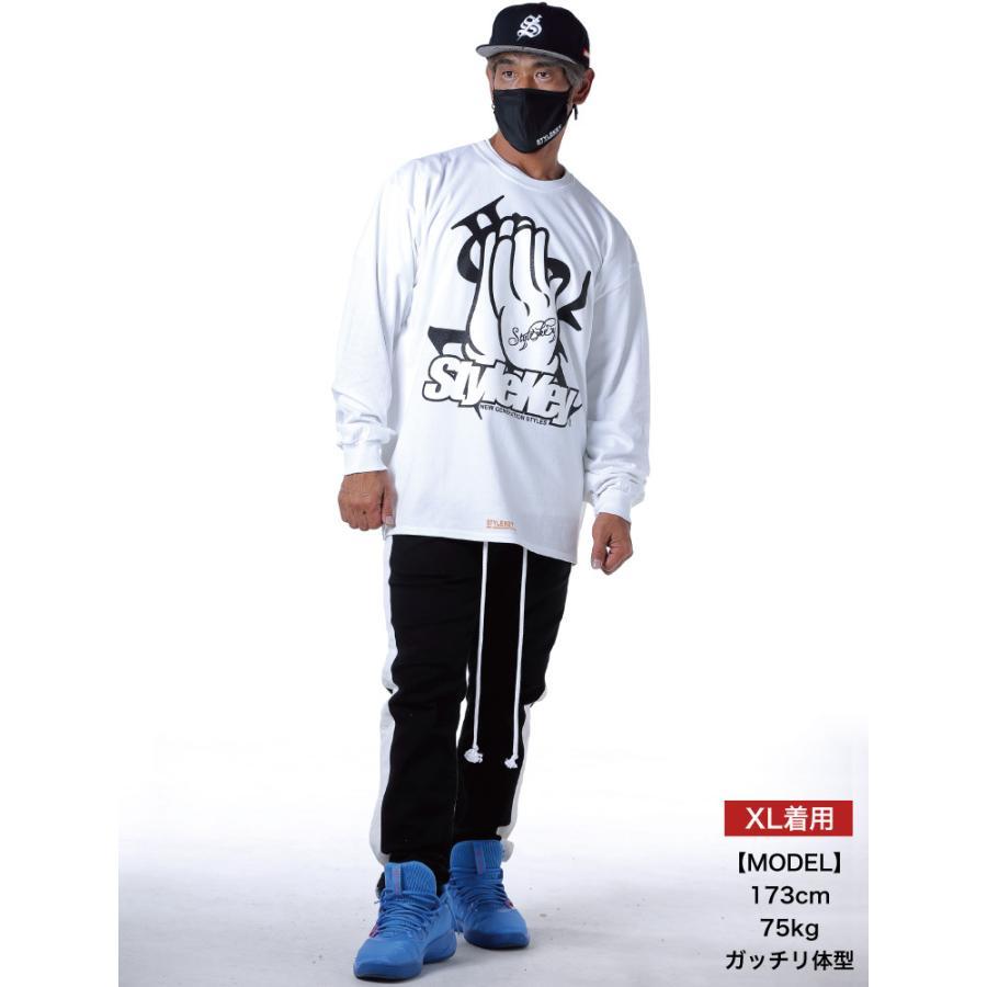 STYLEKEY CLASSIC LABEL(スタイルキー クラシック・レーベル) 長袖Tシャツ PRAY FOR YOU L/S TEE(SK99CL-LS10) ロンT ストリート ヒップホップ 大きいサイズ b-bros 02