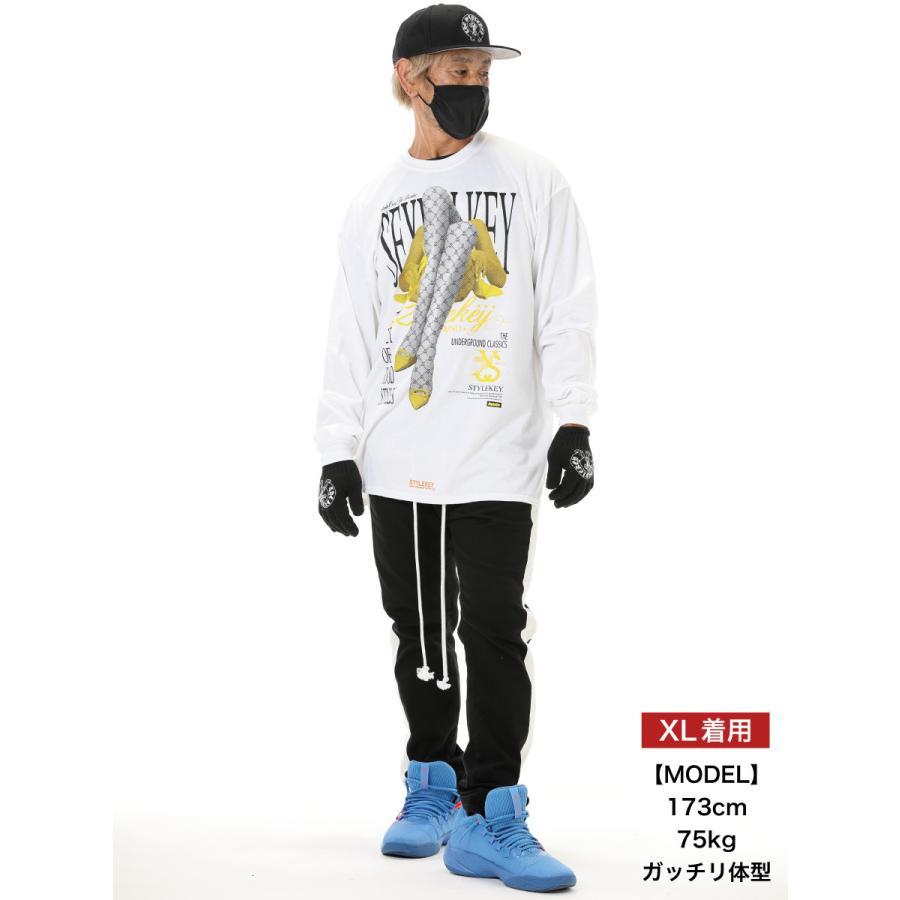 STYLEKEY CLASSIC LABEL(スタイルキー クラシック・レーベル) 長袖Tシャツ FLOWER L/S TEE(SK99CL-LS11) ロンT ストリート ヒップホップ 大きいサイズ|b-bros|02