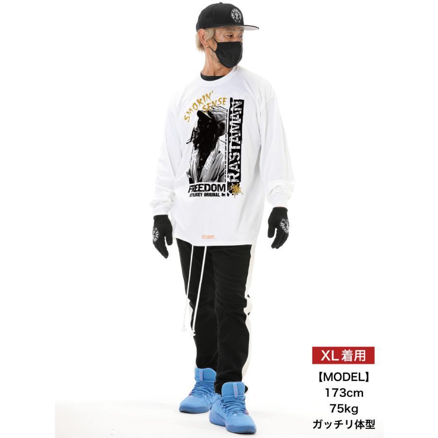 STYLEKEY CLASSIC LABEL(スタイルキー クラシック・レーベル) 長袖Tシャツ RASTAMAN L/S TEE(SK99CL-LS12) ロンT ストリート ヒップホップ 大きいサイズ|b-bros|02