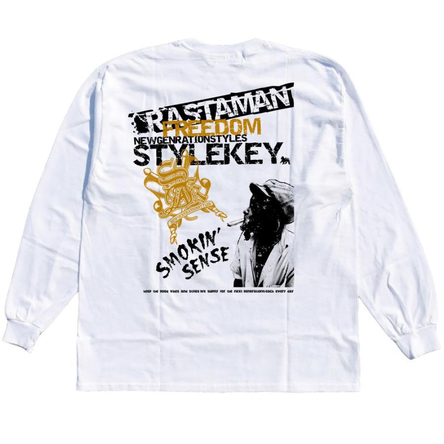 STYLEKEY CLASSIC LABEL(スタイルキー クラシック・レーベル) 長袖Tシャツ RASTAMAN L/S TEE(SK99CL-LS12) ロンT ストリート ヒップホップ 大きいサイズ|b-bros|04