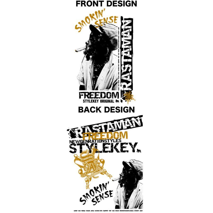 STYLEKEY CLASSIC LABEL(スタイルキー クラシック・レーベル) 長袖Tシャツ RASTAMAN L/S TEE(SK99CL-LS12) ロンT ストリート ヒップホップ 大きいサイズ|b-bros|07