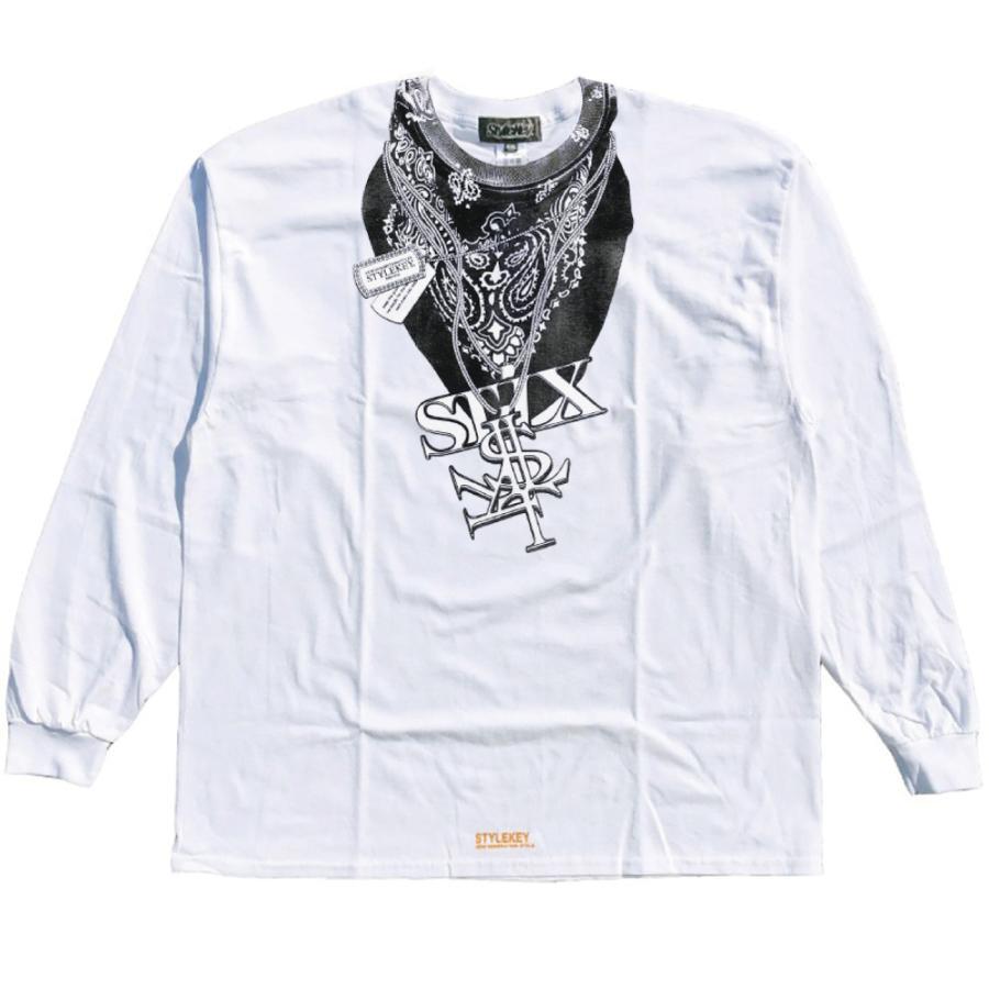 STYLEKEY CLASSIC LABEL(スタイルキー クラシック・レーベル) 長袖Tシャツ HUSTLER L/S TEE(SK99CL-LS13) ロンT ストリート ヒップホップ 大きいサイズ|b-bros|03