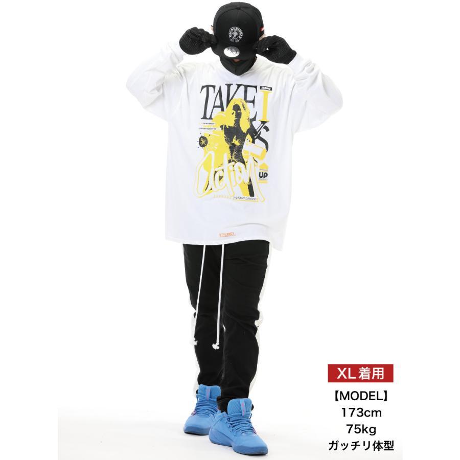 STYLEKEY CLASSIC LABEL(スタイルキー クラシック・レーベル) 長袖Tシャツ ACTION L/S TEE(SK99CL-LS14) ロンT ストリート ヒップホップ 大きいサイズ|b-bros|02