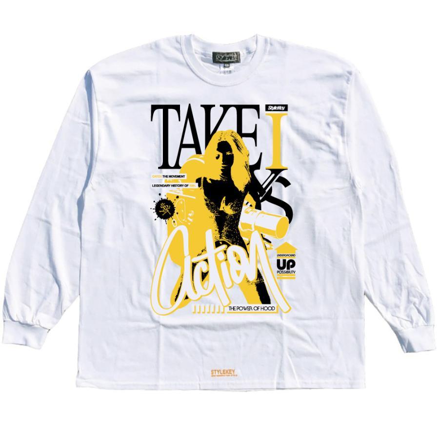 STYLEKEY CLASSIC LABEL(スタイルキー クラシック・レーベル) 長袖Tシャツ ACTION L/S TEE(SK99CL-LS14) ロンT ストリート ヒップホップ 大きいサイズ|b-bros|03