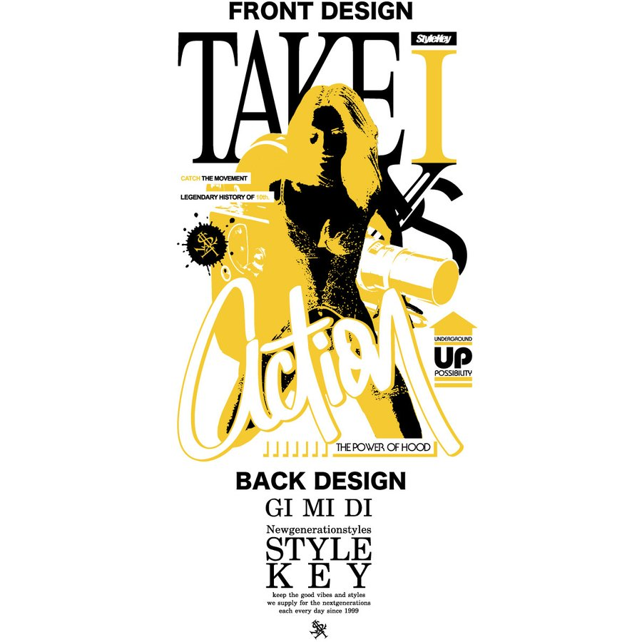 STYLEKEY CLASSIC LABEL(スタイルキー クラシック・レーベル) 長袖Tシャツ ACTION L/S TEE(SK99CL-LS14) ロンT ストリート ヒップホップ 大きいサイズ|b-bros|07
