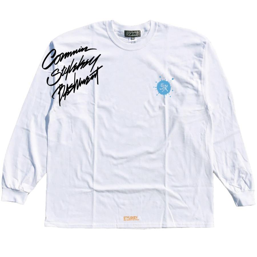 STYLEKEY CLASSIC LABEL(スタイルキー クラシック・レーベル) 長袖Tシャツ CORE BUSH L/S TEE(SK99CL-LS16) ロンT ストリート ヒップホップ 大きいサイズ|b-bros|03