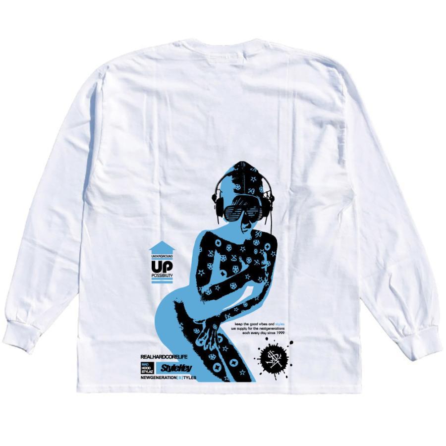 STYLEKEY CLASSIC LABEL(スタイルキー クラシック・レーベル) 長袖Tシャツ CORE BUSH L/S TEE(SK99CL-LS16) ロンT ストリート ヒップホップ 大きいサイズ|b-bros|04