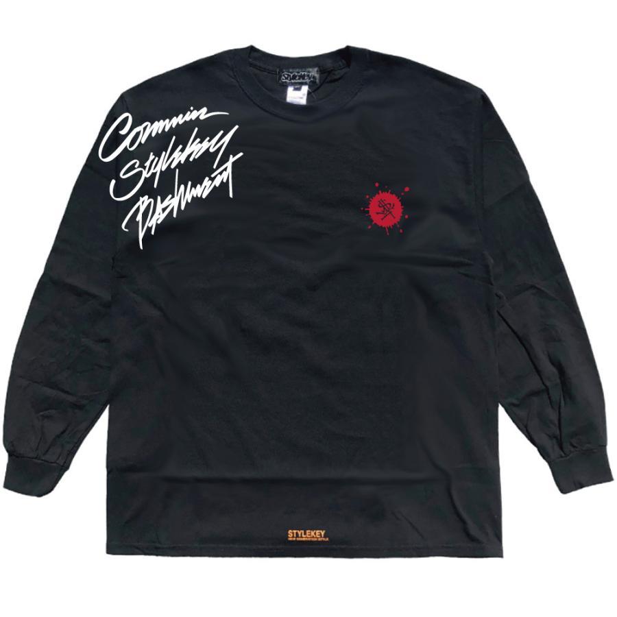 STYLEKEY CLASSIC LABEL(スタイルキー クラシック・レーベル) 長袖Tシャツ CORE BUSH L/S TEE(SK99CL-LS16) ロンT ストリート ヒップホップ 大きいサイズ|b-bros|05