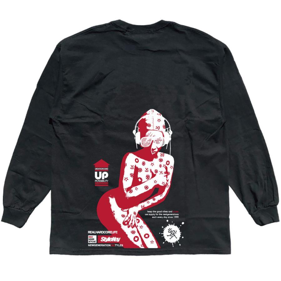 STYLEKEY CLASSIC LABEL(スタイルキー クラシック・レーベル) 長袖Tシャツ CORE BUSH L/S TEE(SK99CL-LS16) ロンT ストリート ヒップホップ 大きいサイズ|b-bros|06