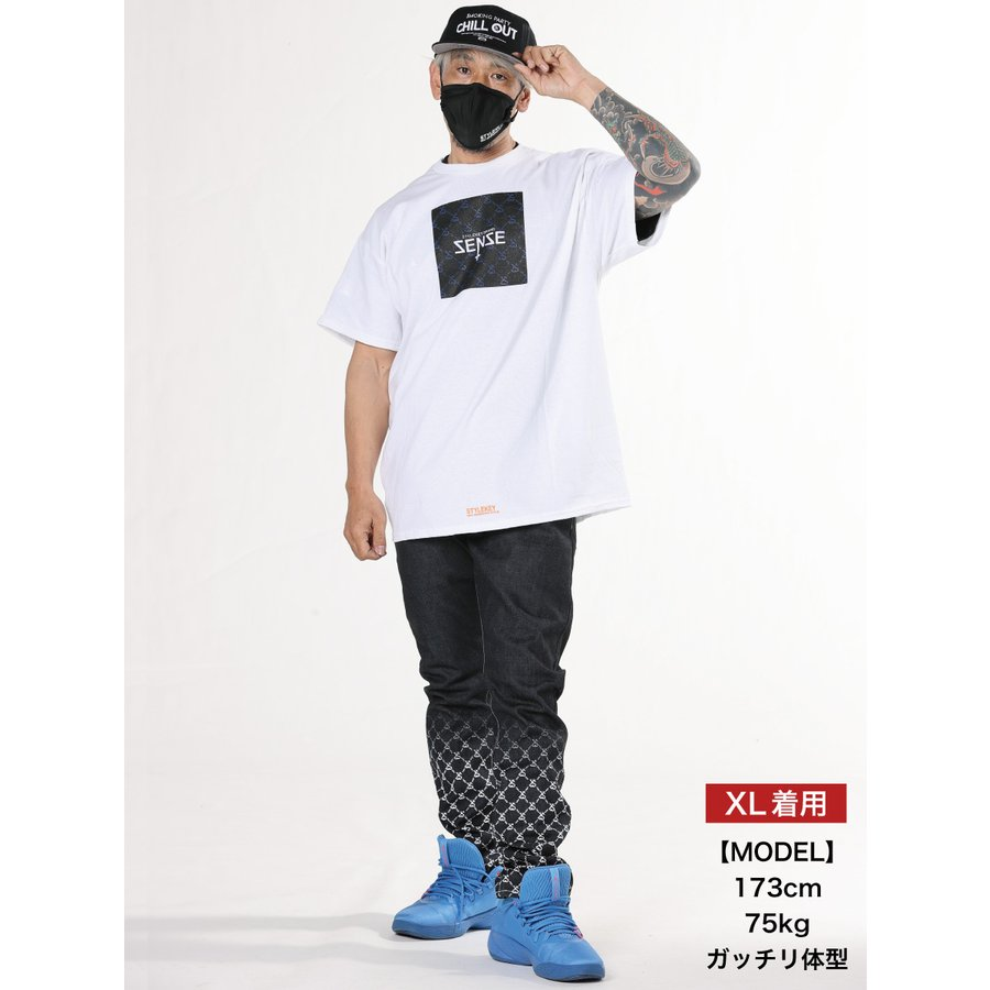 STYLEKEY CLASSIC LABEL スタイルキー クラシック・レーベル 半袖Tシャツ SENSE S/S TEE(SK99CL-SS02) ストリート ヒップホップ ボックスロゴ B系 大きいサイズ b-bros 02