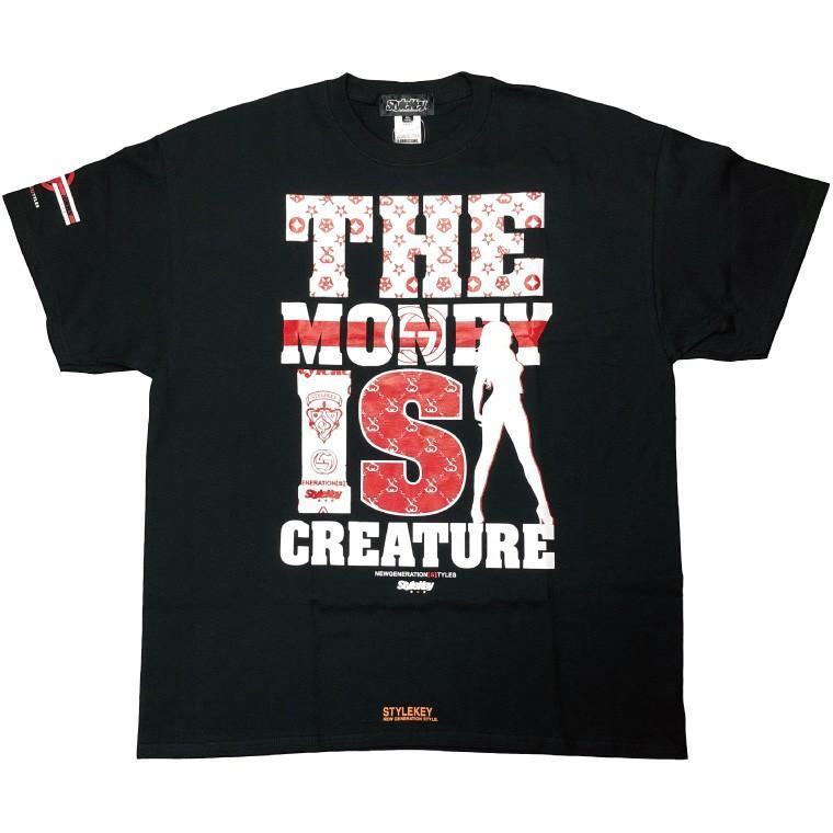 STYLEKEY CLASSIC LABEL スタイルキー クラシック・レーベル 半袖Tシャツ CREATURE S/S TEE(SK99CL-SS03) ストリート ヒップホップ レゲエ B系 大きいサイズ|b-bros|05