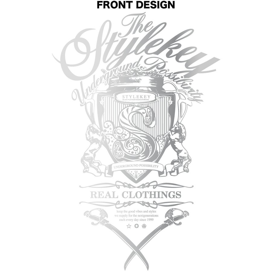 STYLEKEY CLASSIC LABEL スタイルキー クラシック・レーベル 半袖Tシャツ KILLEMB S/S TEE(SK99CL-SS04) ストリート ヒップホップ レゲエ 箔 B系 大きいサイズ b-bros 07