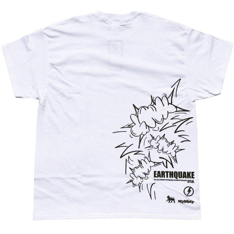 STYLEKEY CLASSIC LABEL スタイルキー クラシック・レーベル 半袖Tシャツ EARTHQUAKE S/S TEE(SK99CL-SS07) ストリート ヒップホップ レゲエ B系 大きいサイズ b-bros 04